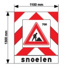 Actiescherm type 1 | B1100 x H1300mm | snoeien